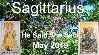 Sagittarius #1 NOT LOSING YOU! May 2019 LOVE READING He Said She Said Tarot