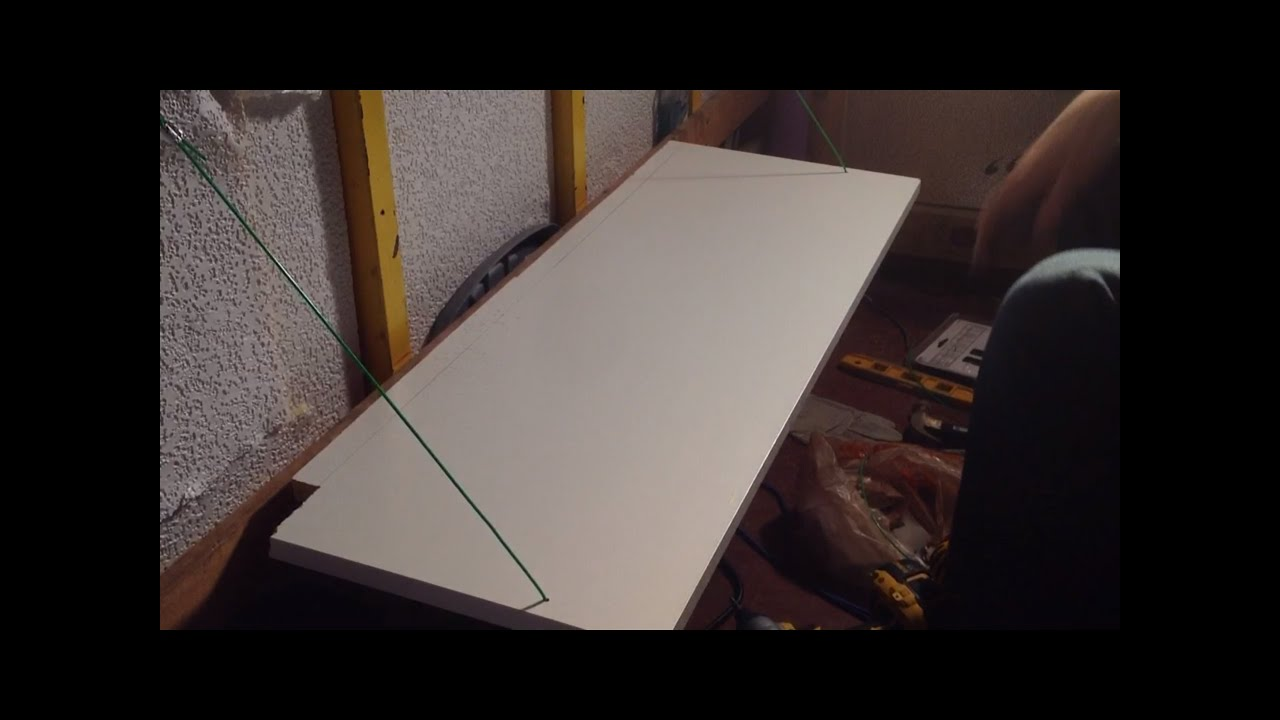 Installing A Collapsible Table 5x8 Enclosed Trailer