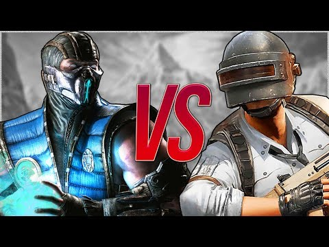 САБ-ЗИРО МОРТАЛ КОМБАТ VS PUBG | СУПЕР РЭП БИТВА | Sub-Zero Mortal Kombat ПРОТИВ PlayerUnknown's