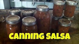 Making Salsa From Garden Fresh Tomatoes