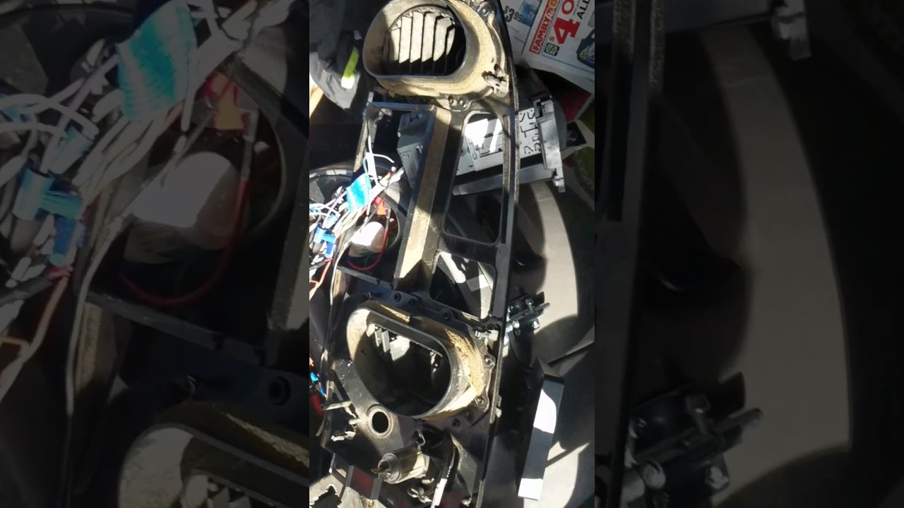 hight resolution of ford e 250 van right side dash removal