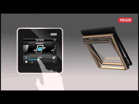 video guida all installazione del control pad velux. Black Bedroom Furniture Sets. Home Design Ideas