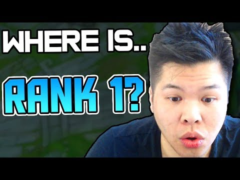 WHERE IS THE RANK 1 GRIND?? WHAT EXACTLY HAPPENED TO PANTS..? - Challenger to RANK 1