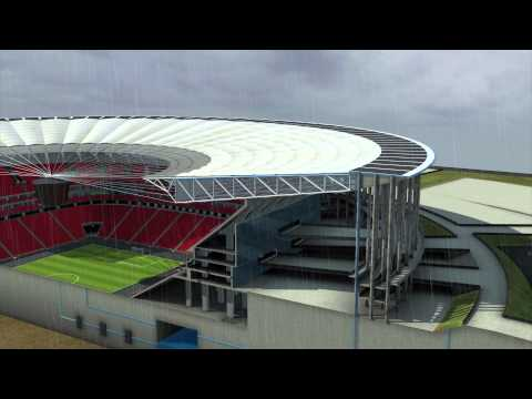 World Cup 2014: Brasilia's Mane Garrincha stadium the first net zero energy stadium