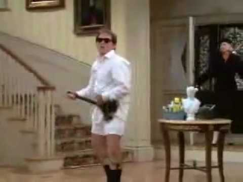 niles dancing to old time rock and roll