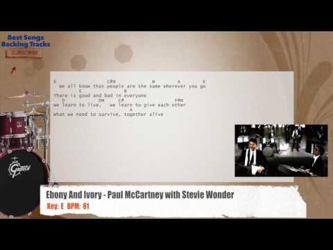 Ebony & Ivory Music Videoby Paul McCartney & Stevie Wonder.