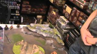 Warhammer 40k BatRap battle turn 3/7 6th Edition Chaos Space Marines/Daemons VS Daemons