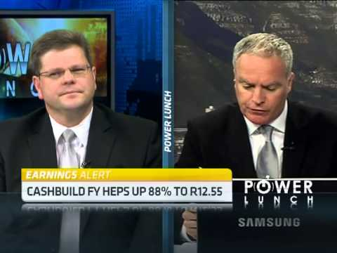 Cashbuild Full Year Results with Werner de Jager