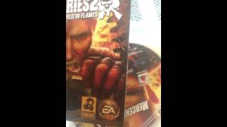 1st ever video, mercenaries 2 review