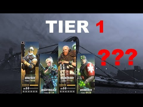 [HERO HUNTERS] HERO TIER LIST (2018 OCT - for PvP only)