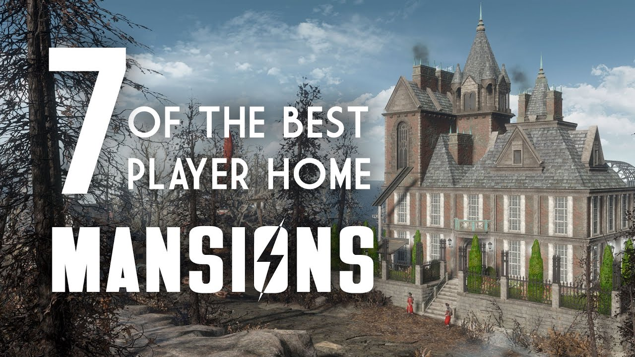 7 of the best player home mansions for fallout 4 fallout for Best house designs fallout 4