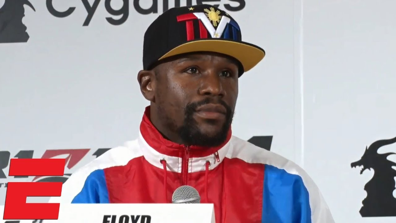 Floyd Mayweather Jr. sets Rizin debut for New Year's Eve in Tokyo