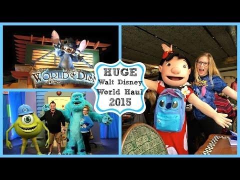 HUGE Walt Disney World Haul | February 2015 ♡
