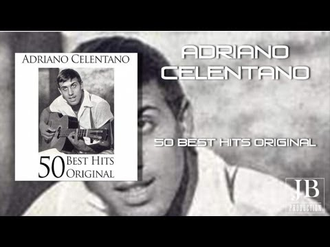 Adriano Celentano 50 Best Hits Original Youtube