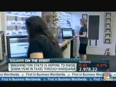 Marijuana Goes Legal in Washington, Investors Share Optimistic Outlook - CNBC 12/07/12