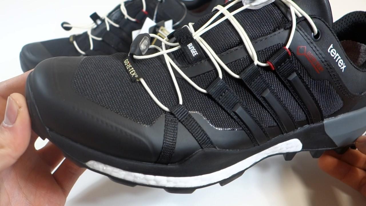 b480ba91e Pánské outdoorové boty adidas Terrex Boost GTX - YouTube