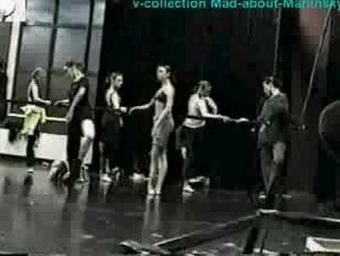 Kirov Ballet Company Class