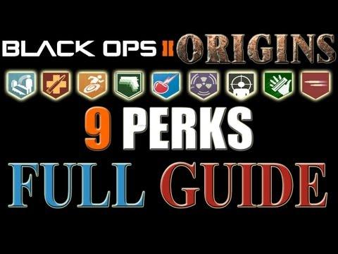 9 PERKS Full Guide (ORIGINS) :: Call of Duty Black Ops 2 ...