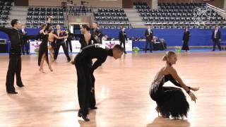 Vodicar - Bychkova, SLO | 2014 Euro Ten Dance R1 R | DanceSport Total