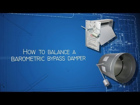 how-to-balance-a-barometric-bypass-damper
