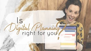 Digital vs Physical Planners | Is Digital Planning Right for you?