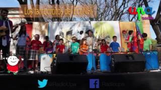 RadioUpa - Los Tamborcitos del ECuNHi nos enseñan (un ritmo con vasitos de plastico)
