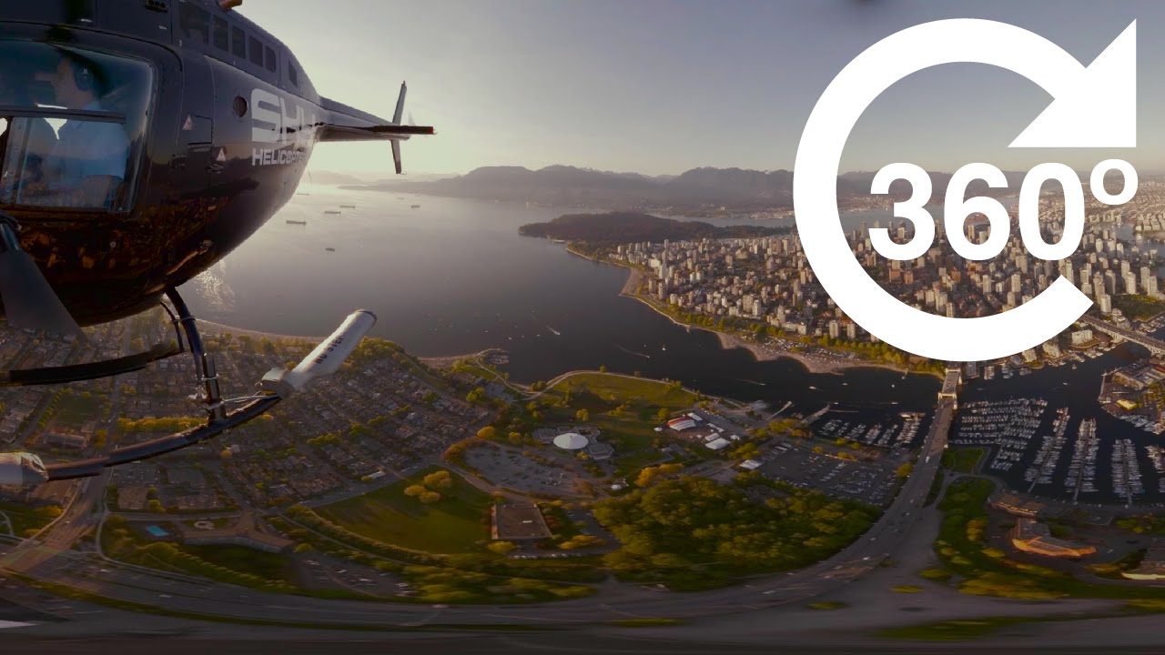 c3cda2dfcb5 Downtown Vancouver at Sunset (4K 360 Video) - YouTube