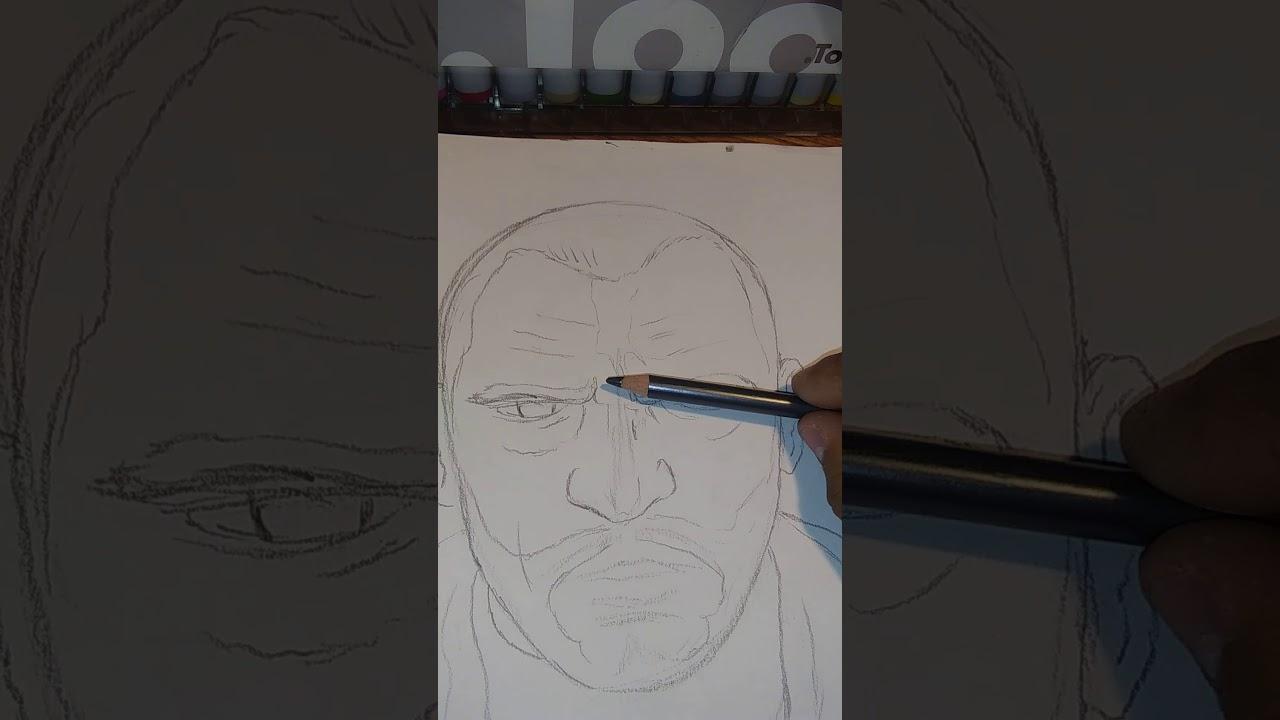 Short Video On How I Draw Niko Bellic From Gta Iv