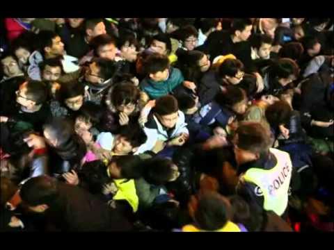 36 died, 47 injured in Shanghai stampede