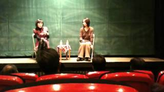 2011.1.28ポレポレ東中野でのトークショー iPhone3GSで撮影 監督:チャ...