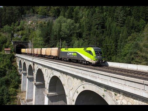 40 Minuten Semmeringbahn im August 2013: City Airport Train, LTE, Adira, RTS und Schachbrett 1144