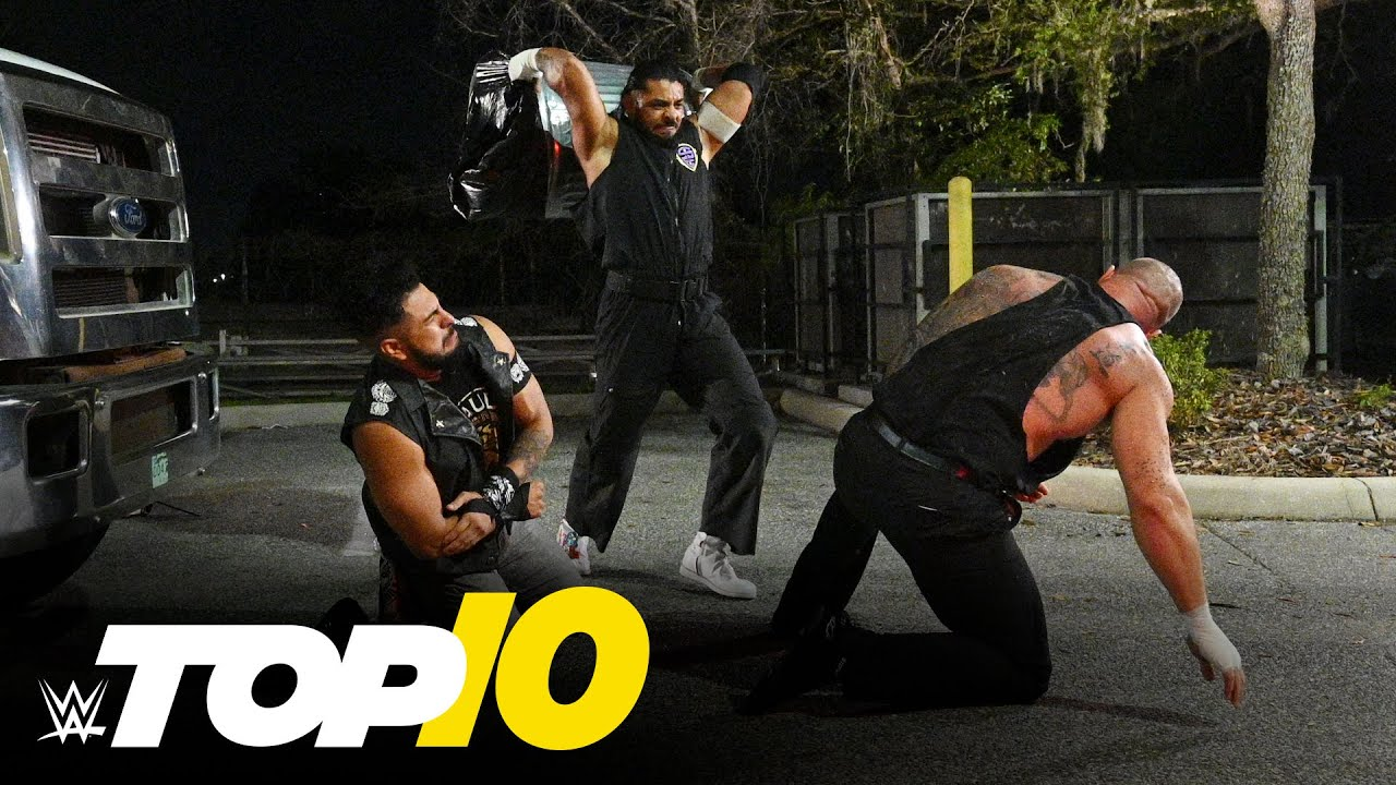 Top 10 NXT Moments: WWE Top 10, Feb. 24, 2021