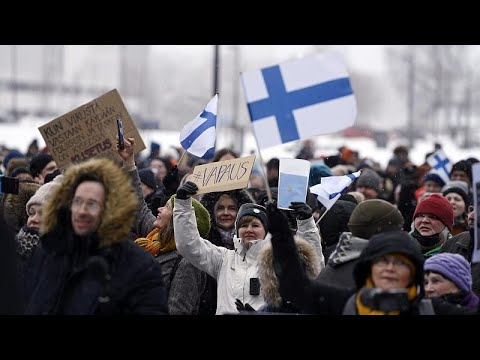 COVID-19: 20 arrested in anti-measures protests in Finland, Denmark & Norway