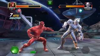Marvel contest of champions alliance war fights unblock-able special 1 and 2 nodes thorns 5* r4