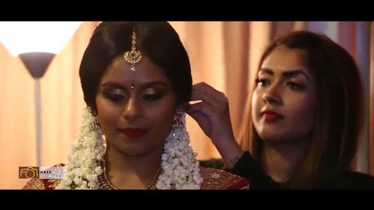 Hindu Bridal Hair And Make Up By Vithya - YouTube