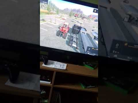 Farming simulator 2017.  How to lease a vehicle