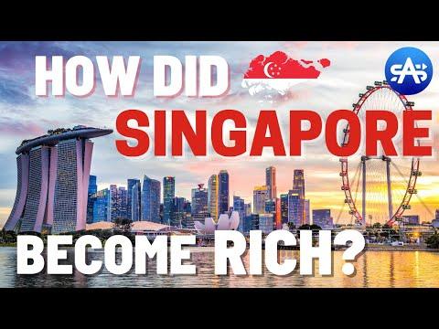 How Did Singapore Become So Rich? Singapore's Economic Secrets