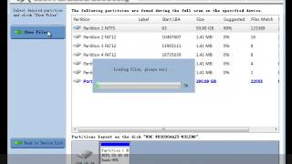 Lost Partition Recovery Freeware: MiniTool Power Data Recovery