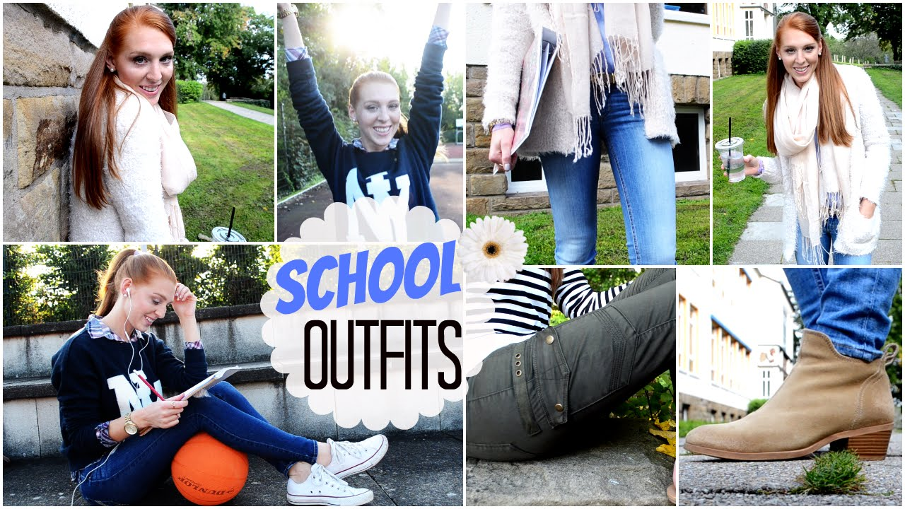 outfits f r die schule herbst 2014 laurencocoxo youtube. Black Bedroom Furniture Sets. Home Design Ideas