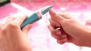 Электрическая пилка для ногтей Scholl Velvet