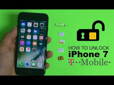 How To Unlock IPhone 7 From T-Mobile To Any Carrier