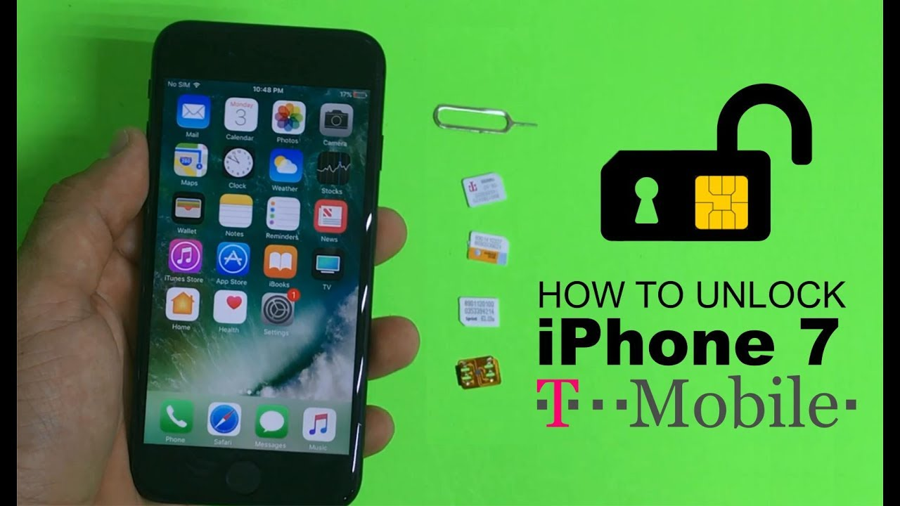 t mobile iphone how to unlock iphone 7 from t mobile to any carrier 1017
