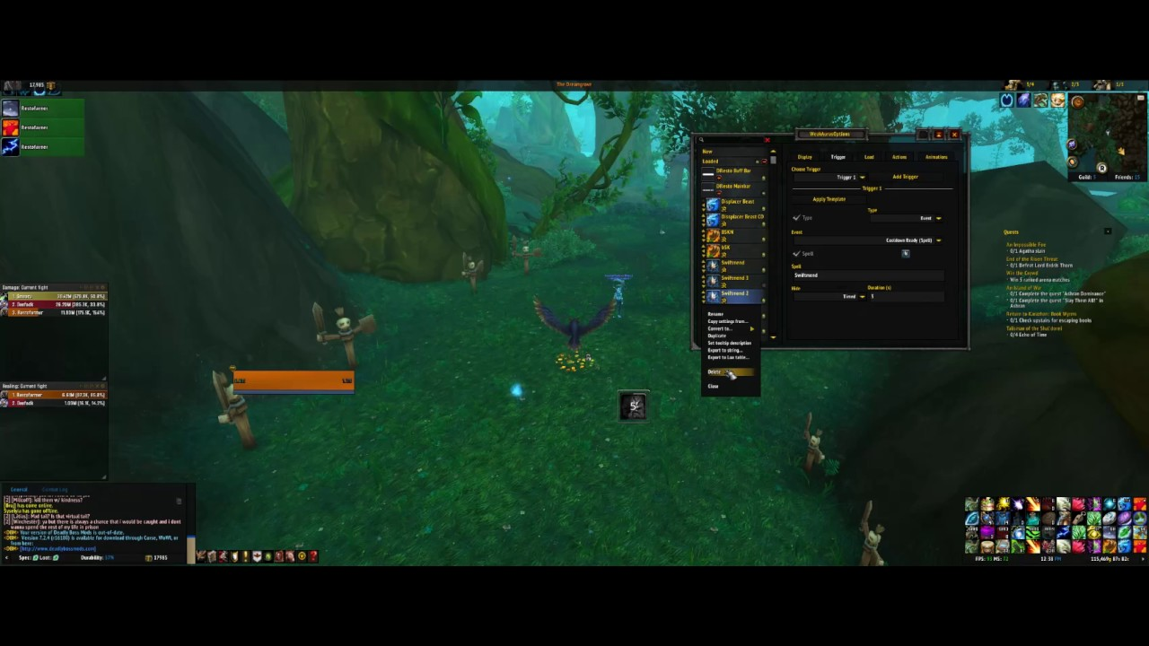 WeakAuras 2 7 0 Legion Guide - PageBD Com