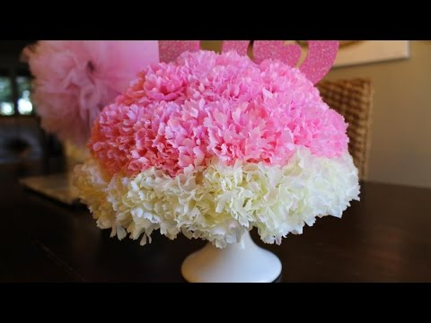 ♕DIY: Baby Shower Centerpiece