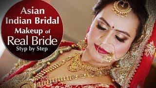 Real Indian Asian Bridal Makeup Tutor.