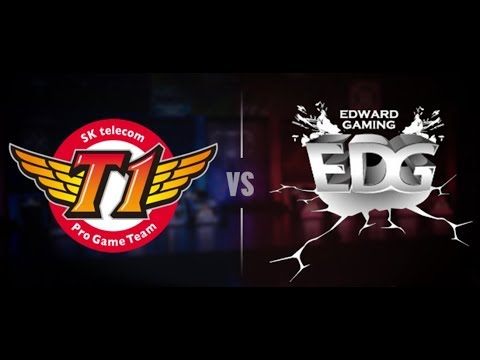 SK Telecom T1 vs Edward Gaming Day 2 Main Group Stage Round 1 World's 2017