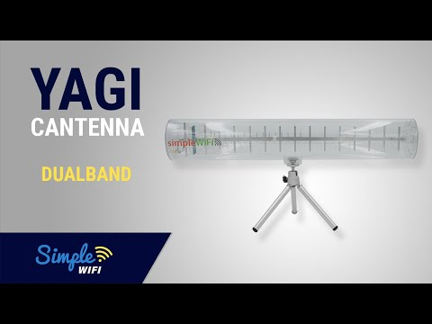 Furthest Reaching 802.11ac Dual Band WiFi Yagi Cantenna Explained