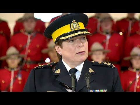 First permanent female RCMP commissioner announced today
