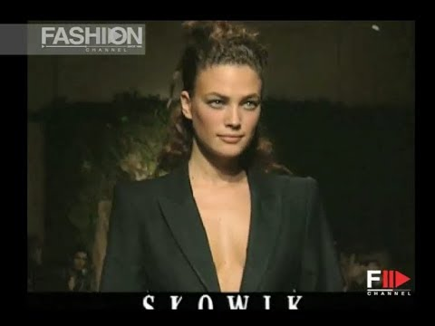 SLOWIK Fall Winter 1997 1998 Milan - Fashion Channel