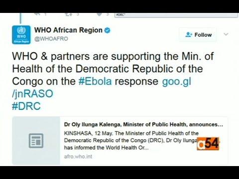 Democratic Republic of Congo Ebola Outbreak